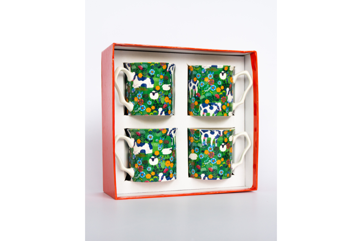 Four Green Fields 4 Piece Mug Set_001