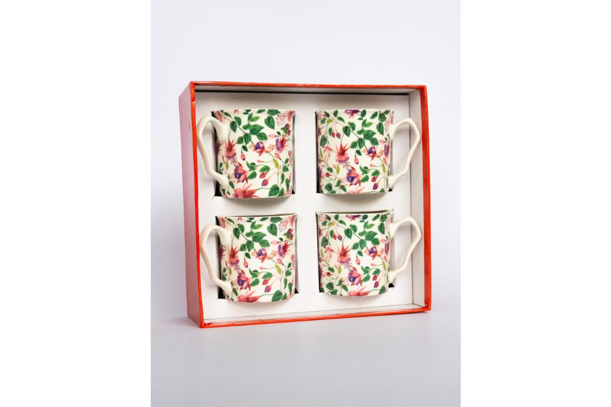 Fuschia 4 Piece Mug Set_001