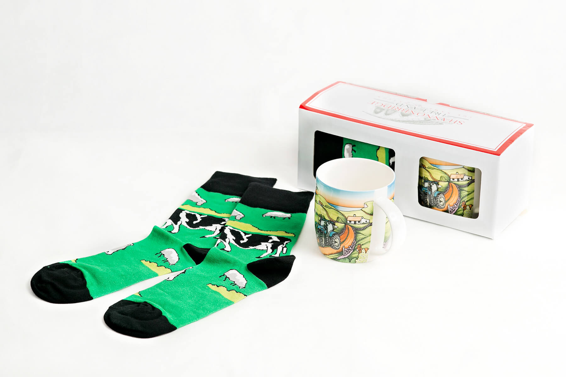 Mug and Sock Set 5