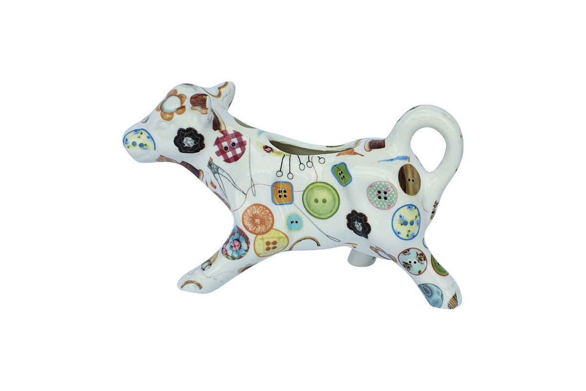 Cow Jug – Sewing