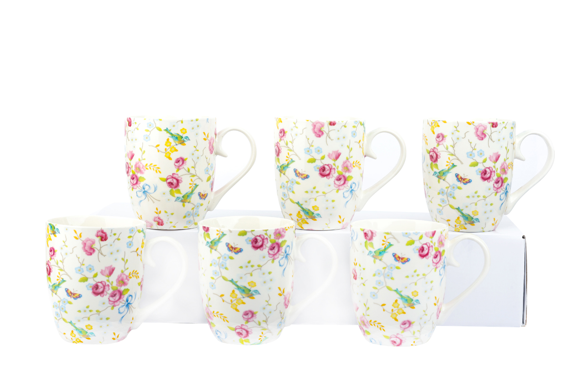 6 Piece Mug Sets – Bird and Blossom